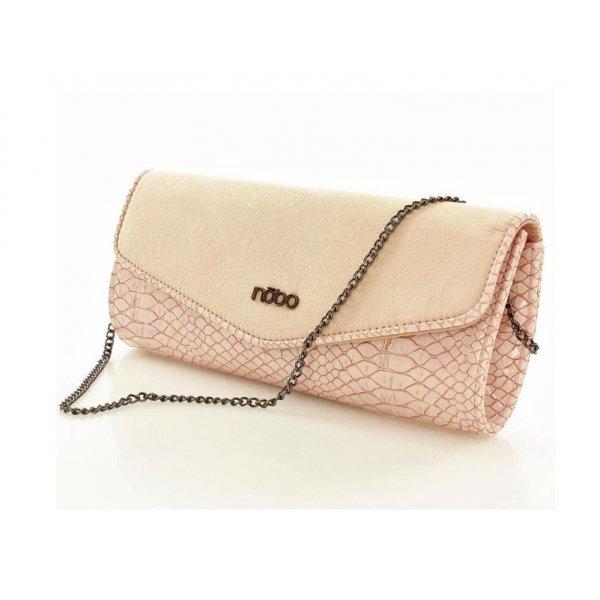 184e7b41cbf7 Elegantná listová kabelka N3750C ružová - ALIBA.sk